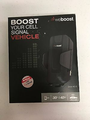 weBoost (Wilson) Drive 4G-S Car Cell Phone Signal Booster Kit