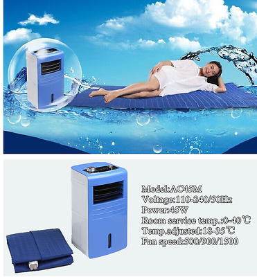 Electric water cooling mattress pad topper blanket menopause multiple sclerosis
