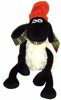 SHAUN THE SHEEP WITH SCARF & HAT 40 cm SOFT TOY (A BAAAGAIN WHILST STOCKS LAST)