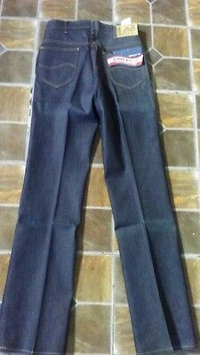 NOS with tags Vintage 70s Mens LEE Rider Boot Cut 201 jeans, sz 32 x 34
