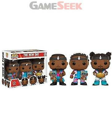 Pop! Wwe: The New Day - Booty O's 3-Pack Vinyl Figure - Toys Brand New