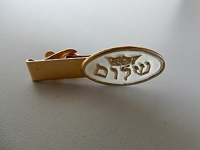 Jewish Airforce Metal Tie Clip
