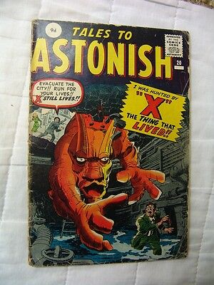 TALES TO ASTONISH 20.. (silver age)…
