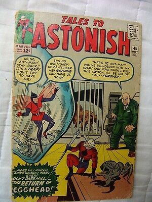 TALES TO ASTONISH 45.. (silver age)…