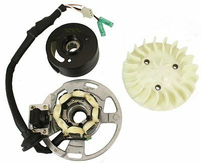 Hoca Racing Performance Rechargable Alternator Kit for Yamaha Jog 90cc scooters