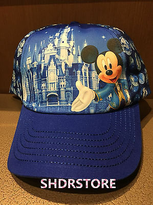 Mickey Castle Hat Cap Shanghai Disneyland Disney Park Shdr New