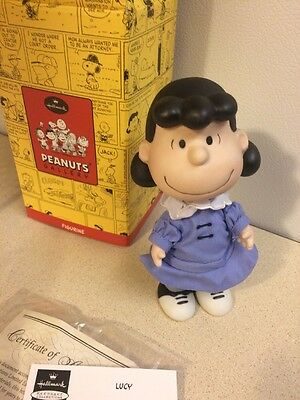 Hallmark Peanuts Gallery Figurine LUCY LIMITED EDITION  NEW