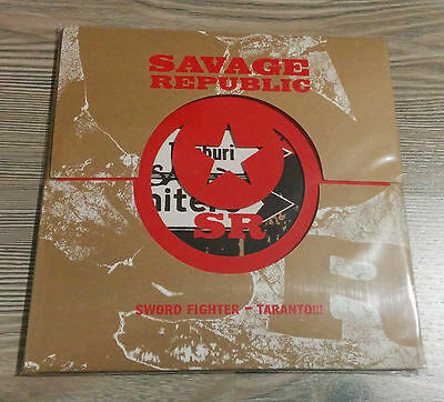 "SAVAGE REPUBLIC Sword Fighter 7"" Throbbing Gristle SPK post-punk industrial"