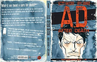 A.d.after Death Big Bang Comics Exclusive Hc With New Jeff Lemire Cover.