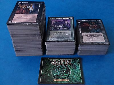 CCG Cards - VAMPIRE - THE ETERNAL STRUGGLE - Over 450 Cards - VTES Sabbat Etc