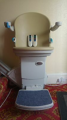 Handicare Simplicity 950+ Stairlift with Powered Swivel Seat - Straight Rail