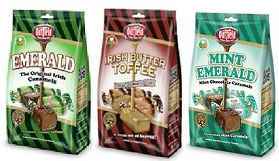 Selection of Oatfield Toffees from Ireland (price includes shipping worldwide)