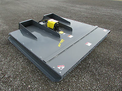 "2017 - ""72"" Skid Steer Mower Cutter Brush Hog Bobcat Commercial Hd Attachment"
