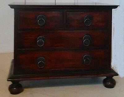 apprentice piece reproduction William and Mary chest