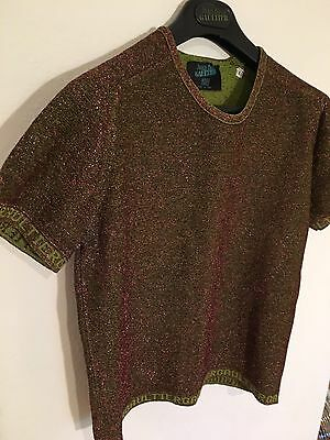 Gaultier Home Couture Collection Glitter Signature T Shirt