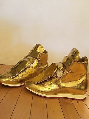 Vivienne Westwood Gold 3 Tongue Trainers
