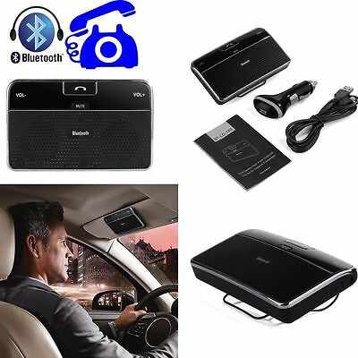 Bluetooth 4.0 Car Kit Hands-Free Speakerphone Clip Music Receiver for iPhone 6s