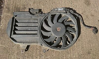 Audi A4 B7 S-Line 2.0 tdi Cooling Fan Panel and Controller electric 8E0121205AE