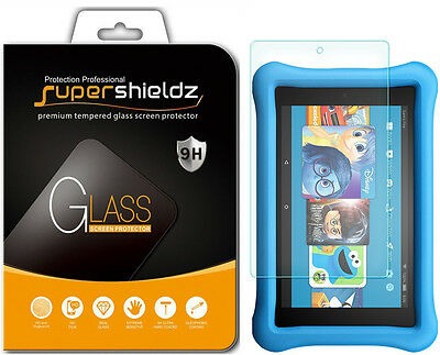 2x Tempered Glass Screen Protector for Amazon Fire HD 8 Kids Edition (2017/2018