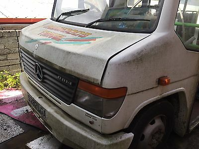 Mercedes Vario Parts Bonnet