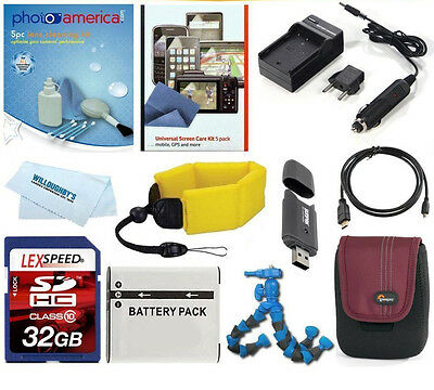 Deluxe Accessory Kit For Sony Cyber-Shot For All Models of DCR-RX100 Cameras