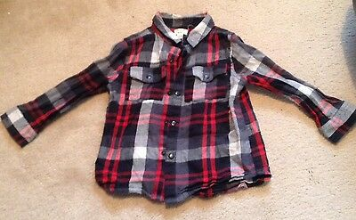 River Island Mini Boys Long Sleeved Shirt Size 18-24 Months