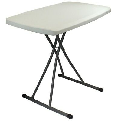 Zimmer Personal Folding Table Plastic and Steel 20 X 30