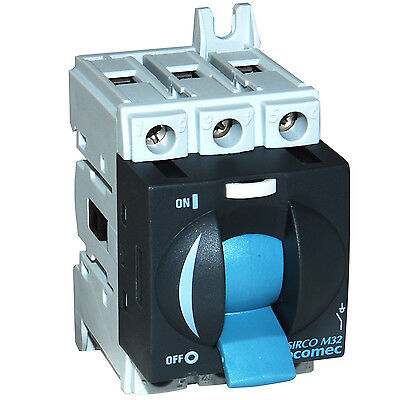 Socomec Load Break Switch 3x32 amp ~ 22053003