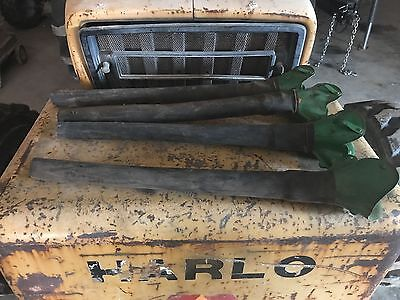 4-John Deere Grain Drill Seed Tubes and Feed Cups  as pictured