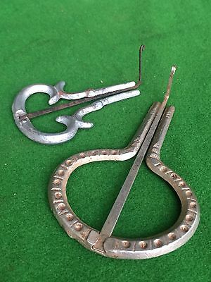 Two Antique Jewish Mouth Harps, Made In England