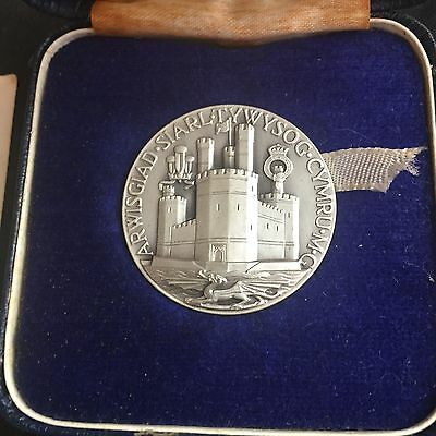 1969 Investiture of Prince of Wales Small Solid Silver  Medal Number 510: Coin