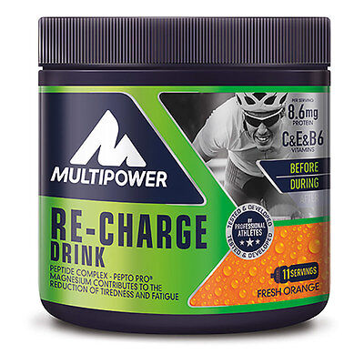 Pot Multipower RE - CHARGE DRINK 495 gr orange