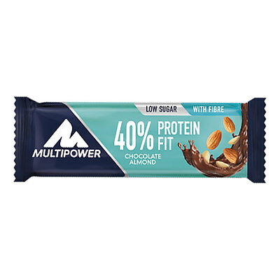 Barre Multipower 40% Protein Fit 30 gr chocolat amandes (24 unités)