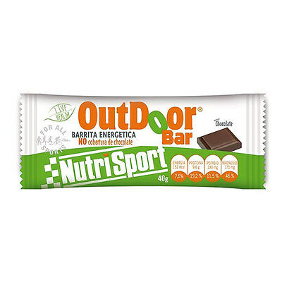 Barre Nutrisport OutDoor Bar chocolat (20 u)