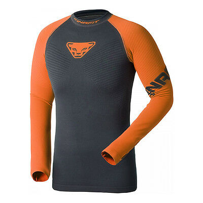 Maillot Dynafit Innergy Performance manches longues gris orange