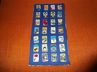 pin s tintin collection complete rare 28 pins couverture de livre bande dessinee