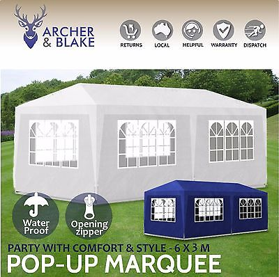 Gazebo Marquee Canopy Party Wedding Function Car Port Shade Market Display Tent