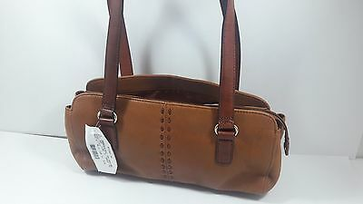 Fossil Small Leather Shoulder Bag Tan/Brown