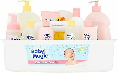 Baby Magic BATH TIME FUN KIT NEWBORN INFANT TODDLER GIFT SET WASH OIL LOTION NEW