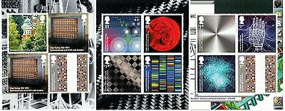 GB stamps INVENTIVE BRITAIN 3 panes MNH from DY12 Prestige Booklet 2014