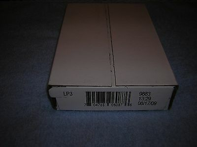 """2009 Lincoln """"Professional"""" 2 roll set in sealed box"""