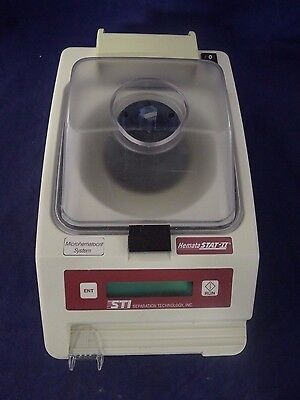 STI 100-100 Hemata STAT-II Centrifuge Without Power Cord USED