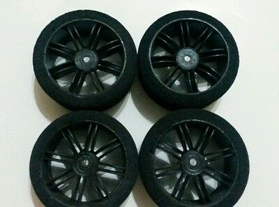 1/10th foam wheels and tyres x4