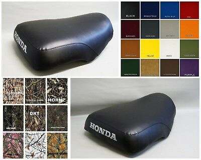 HONDA ATC200E Seat Cover 1982 1983 BIG RED Electric Start  in 25 COLORS     (ST)
