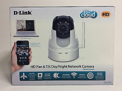 D-Link DCS-5222L HD Pan & Tilt Wi-Fi Video Security Camera with Two-Way Audio