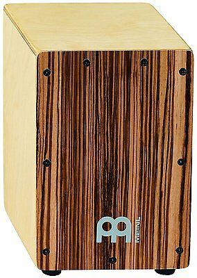 Drum Box Percussion Cajon Birch Bubinga Front Body Panel Mini Personalised Wood