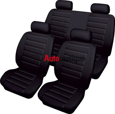 Mercedes-Benz B-Class  B180 CDI AMG Line  5d 2015 LEATHER LOOK SEAT COVER SET