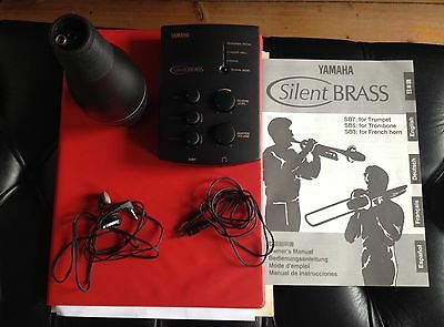 Amended Re Postage Trumpet Yamaha Silent Brass SB7 Electric Mute System
