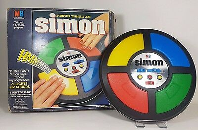 Vintage 1978 MB Electronics Simon Game Boxed