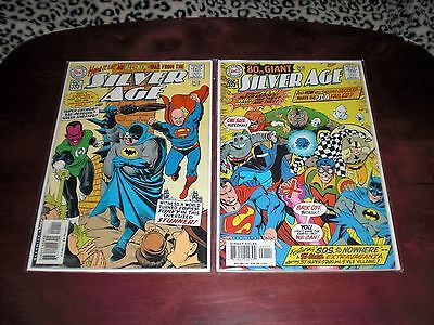 Silver Age  No.1   Dc Comics  Lot Of 2